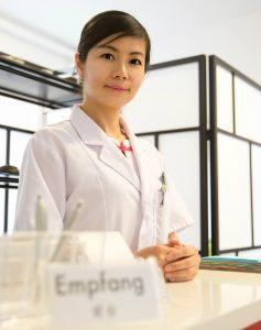Jing Vollmar - TCM Therapeutin für Akupunktur und traditionelle chinesische Medizin in Kriens Luzern und Wauwil Sursee